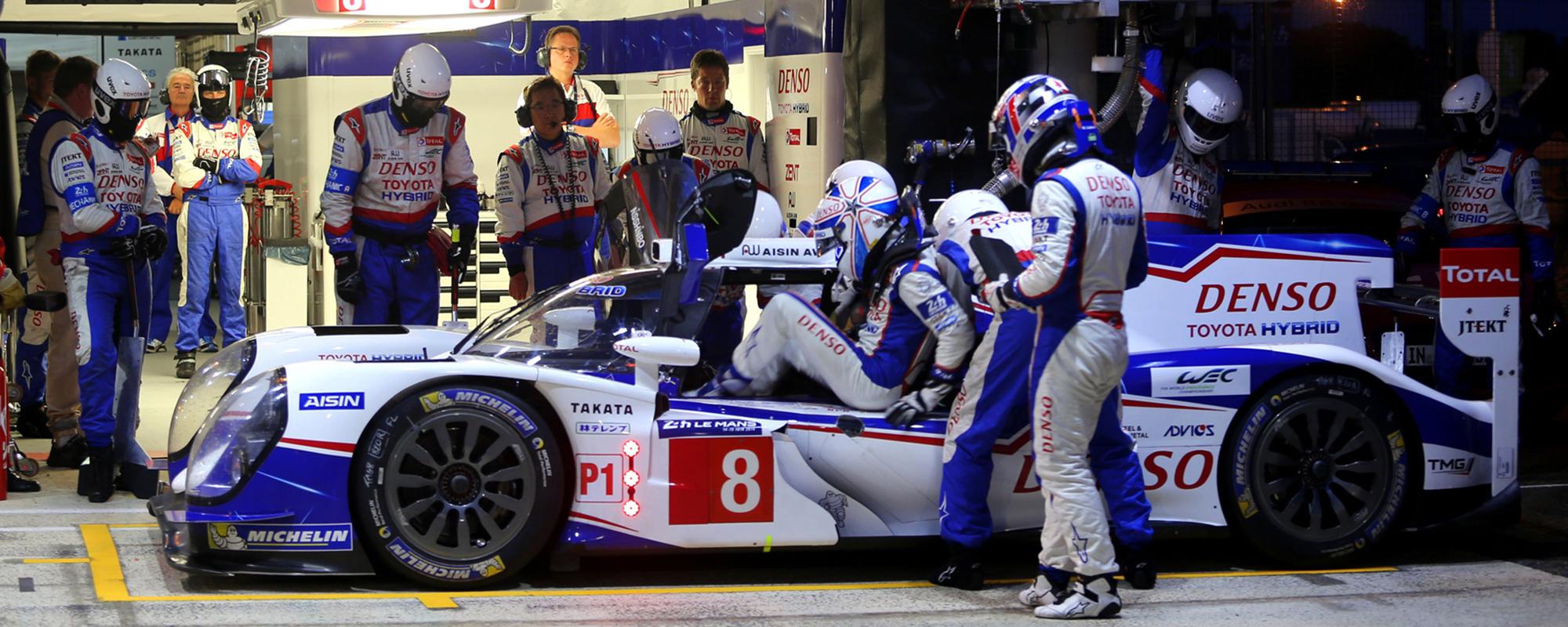 Toyota Racing helemaal op scherp voor Le Mans 2014