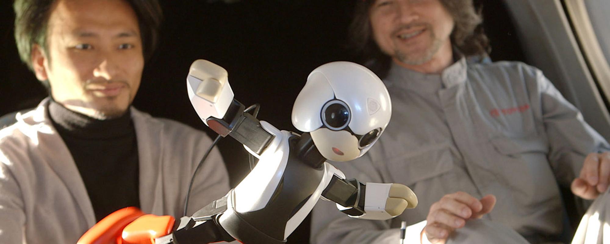 Toyota stuurt pratende robot de ruimte in