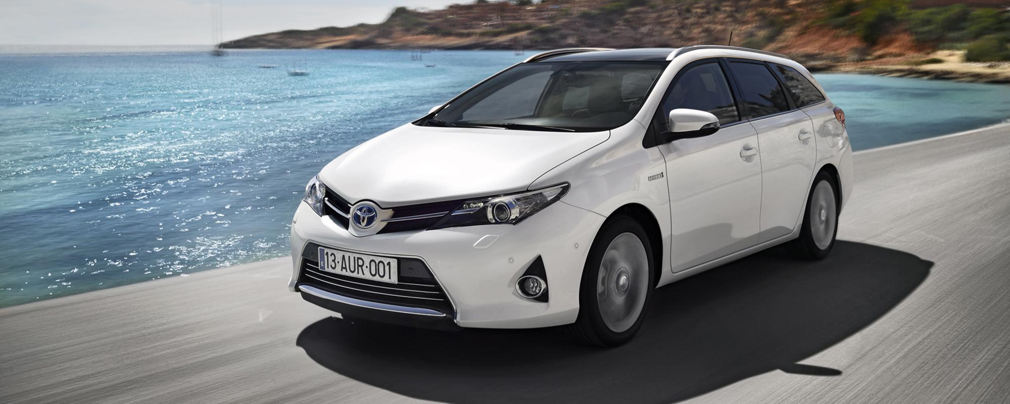 Toyota Auris: alle hybride uitvoeringen ook in 2014 met 14 procent bijtelling