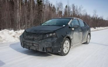 Toyota's waterstofauto doorstaat Polar Vortex glansrijk