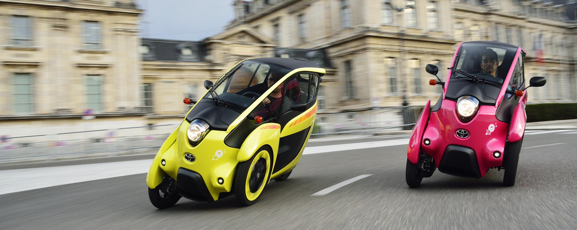 Toyota start pilot schone persoonlijke mobiliteit in Grenoble
