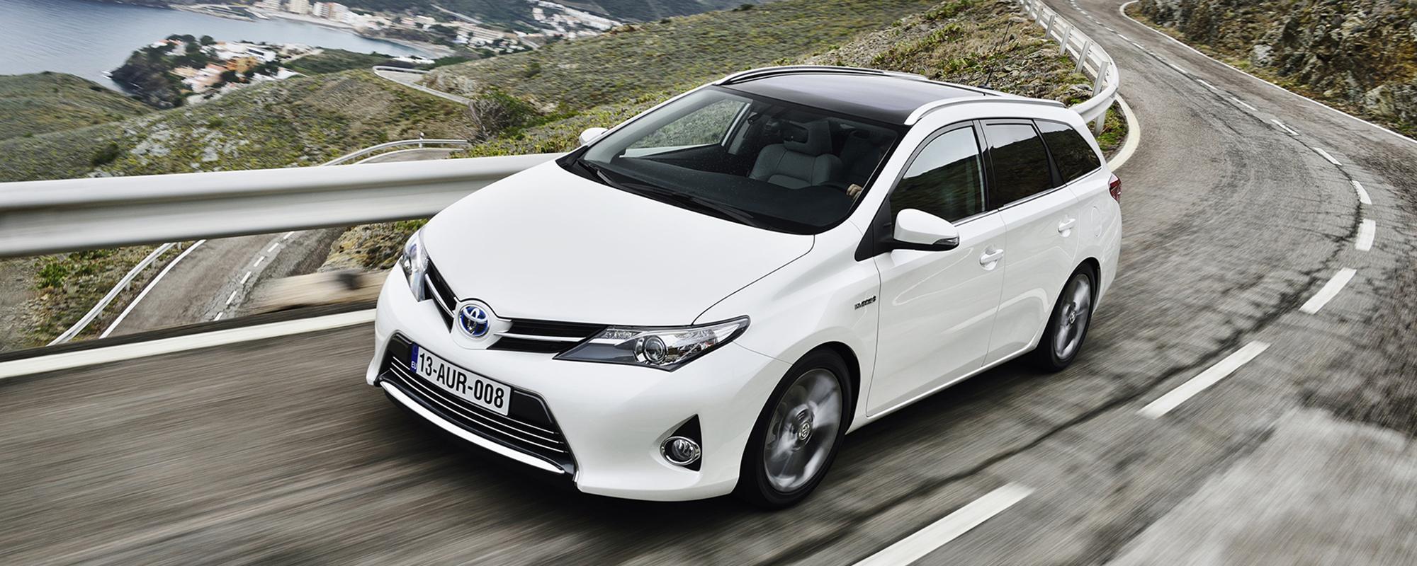 Toyota Auris TS: ook in 2015 met 14% bijtelling
