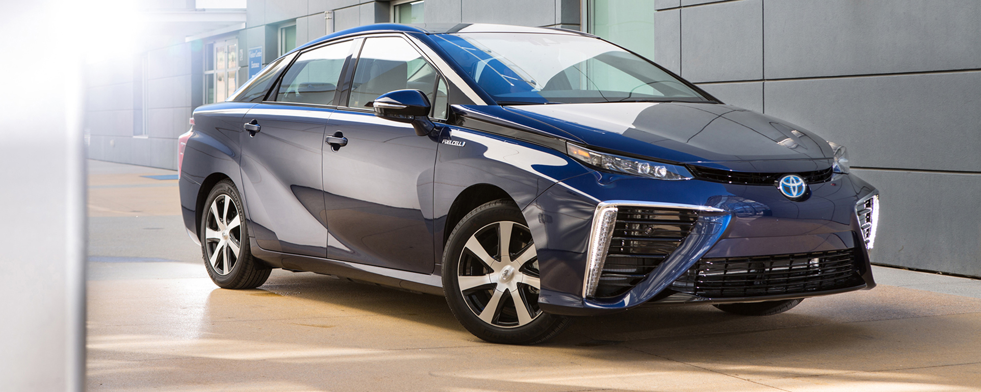 Hier is de toekomst: de Fuel Cell Toyota 'Mirai'