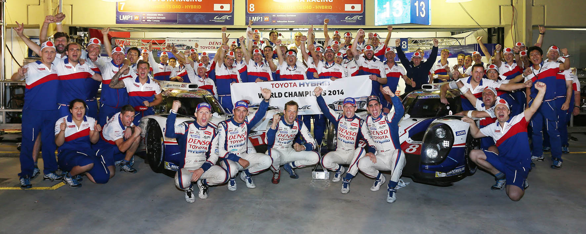 Toyota kampioen met de TS040 HYBRID in FIA World Endurance Championship