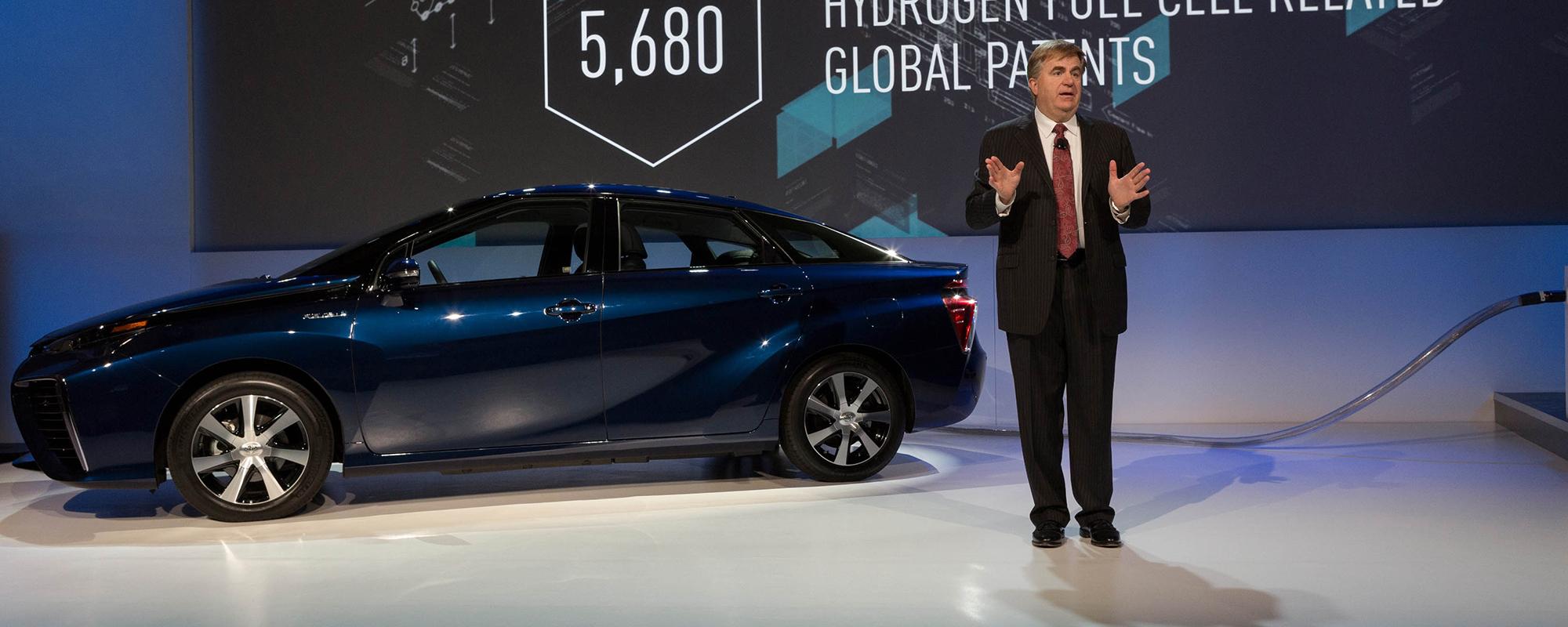 Toyota geeft 5.680 Fuel Cell patenten vrij om schone mobiliteit te stimuleren