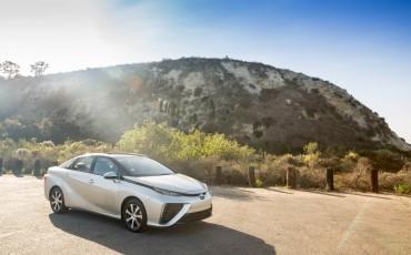 Productieversie Toyota Mirai voor het eerst in Europa