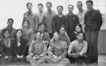 2012_11_Eerste medewerkers van Toyota Automobile Department Toyota Automatic Loom Works 1933