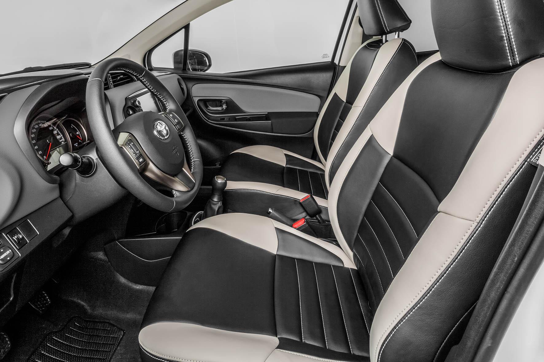 Toyota yaris bi tone onderscheidend en exclusief for Interieur yaris 2015
