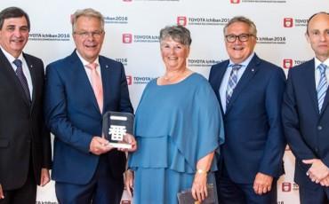 Toyota dealer Gebr. van Gent wint achtste Ichiban Award op rij