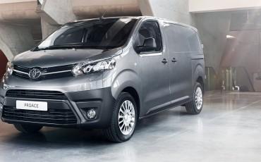 Toyota introduceert PROACE bedrijfswagens vanaf € 16.995
