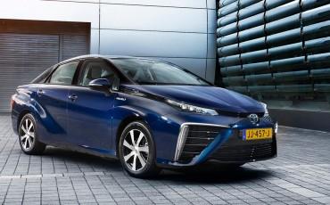 Revolutionaire, schone brandstofcelauto Toyota Mirai leverbaar in Nederland