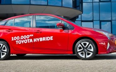 Magische grens van 100.000 hybride Toyota's gepasseerd
