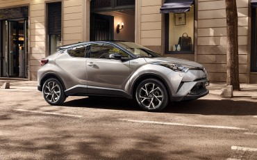 Uitdagende Toyota C-HR maakt publieksdebuut op Paris Motor Show 2016