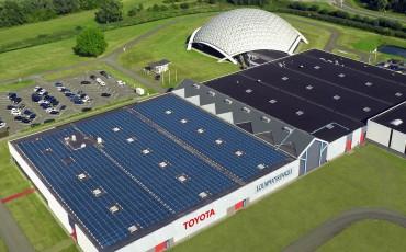 Toyota en Lexus importeur plaatst zonnepanelen en opereert volledig op duurzame energie