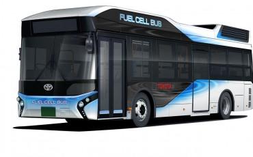 Toyota start verkoop Fuel Cell bussen in Japan