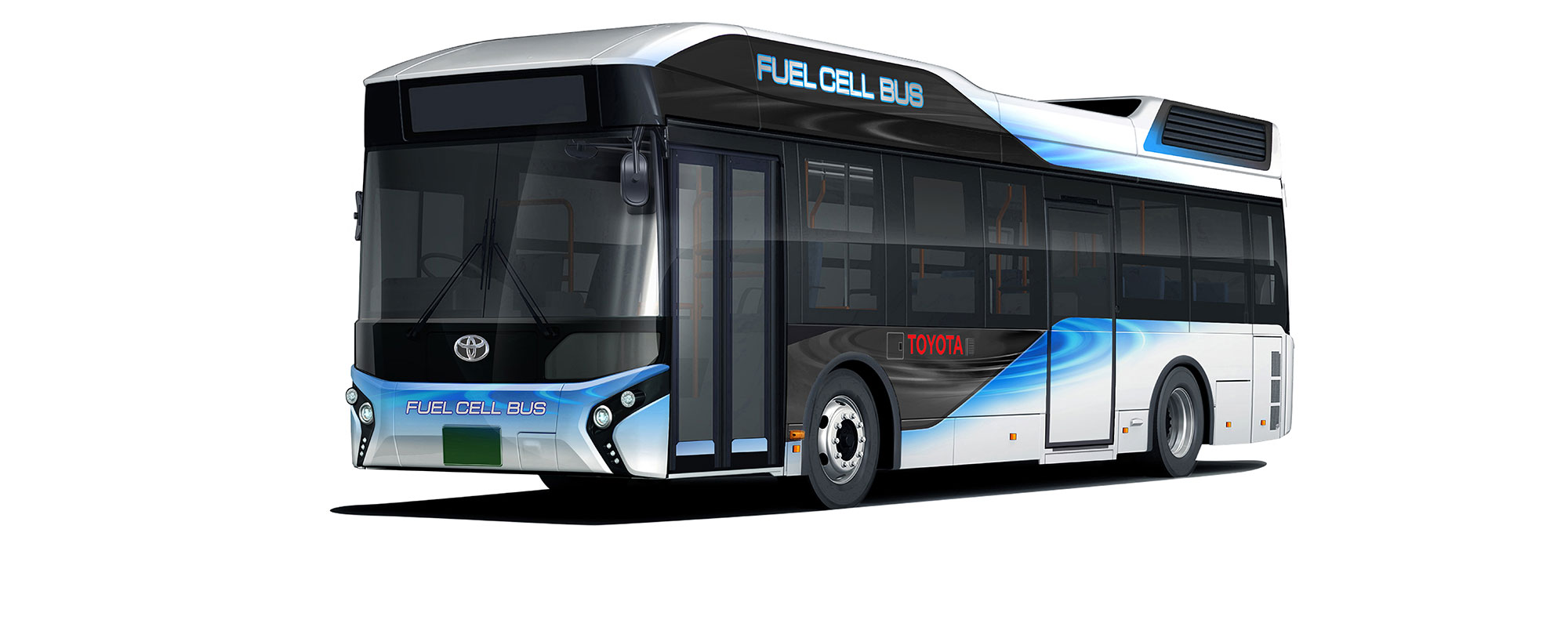 Toyota start verkoop Fuel Cell bussen in Japan