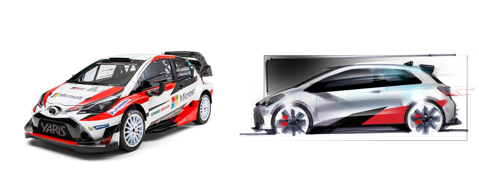 Toyota Yaris WRC maakt zich op voor WRC 2017