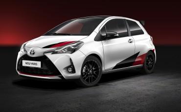 Toyota presenteert definitieve straatversie Yaris WRC