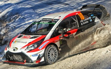 IJzersterk debuut Toyota Yaris WRC in FIA World Rally Championship 2017