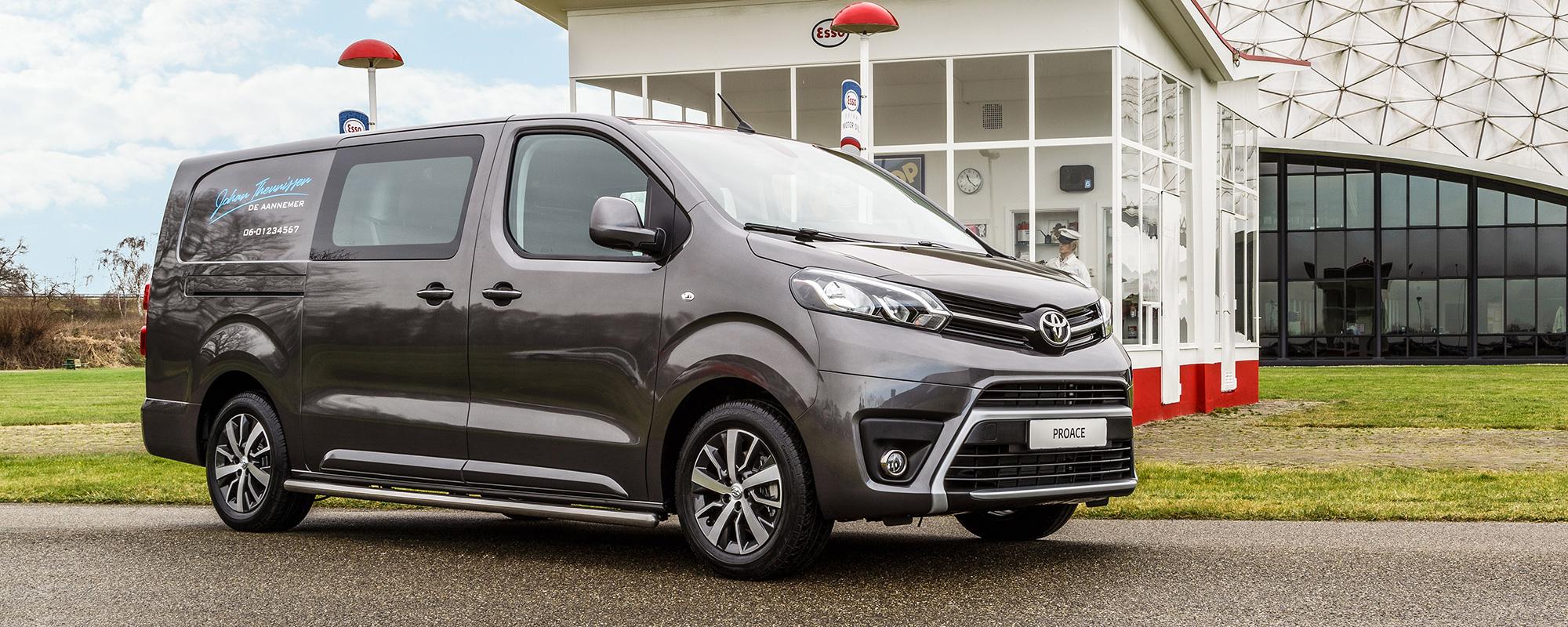 Toyota PROACE Dubbele Cabine onthuld op Bouwbeurs 2017
