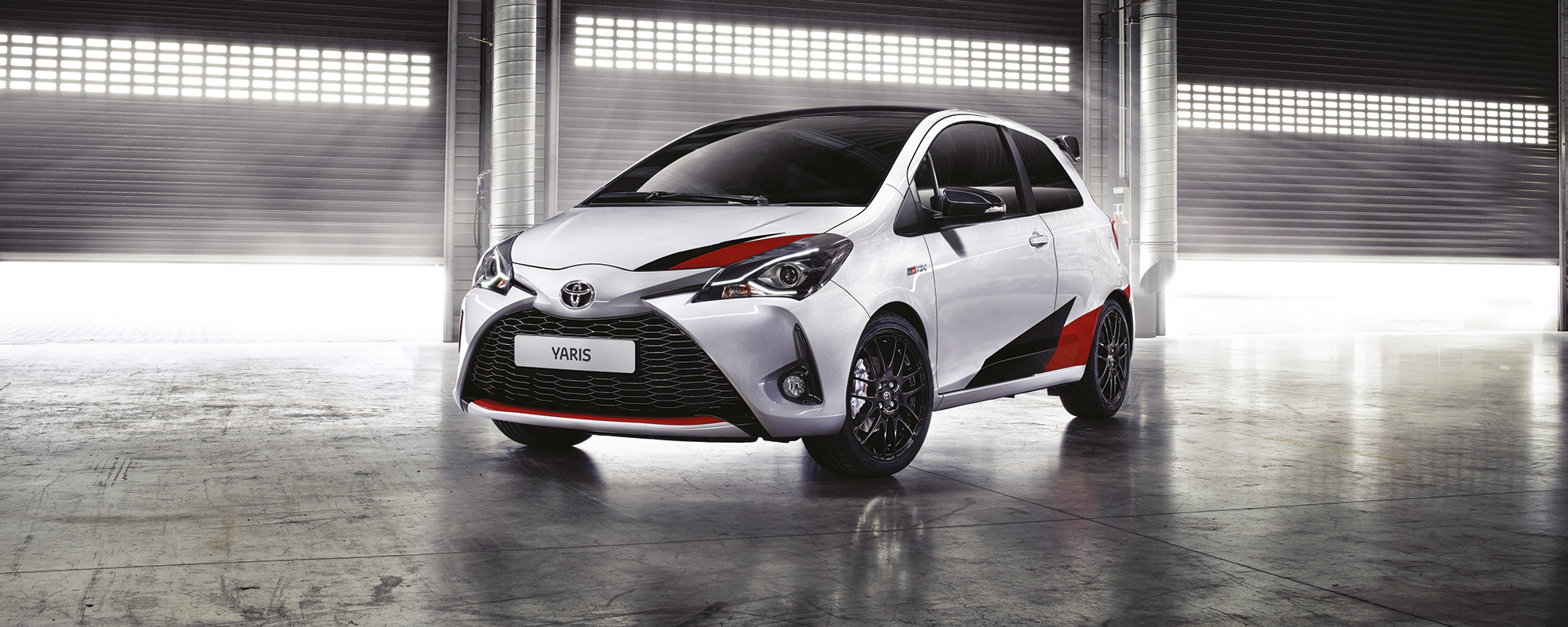 In Genève showt Toyota de nieuwe Yaris en de 'hot hatch' Yaris GRMN