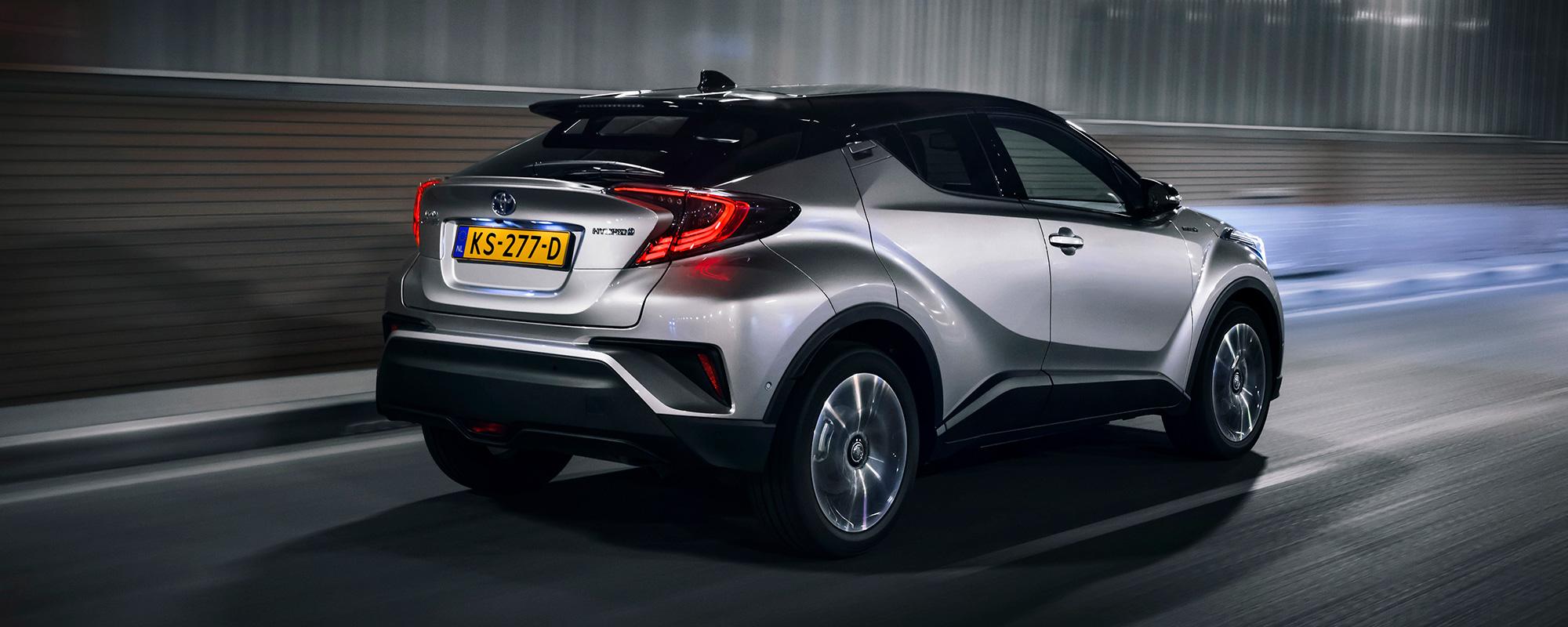 Nieuwe Toyota C-HR behaalt maximale score in Euro NCAP
