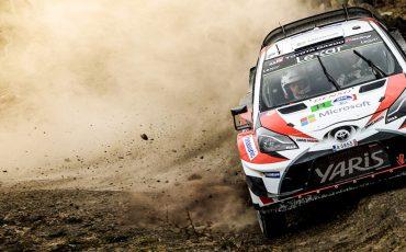 Toyota GAZOO Racing behoudt 2<sup>de</sup> plaats in WRC