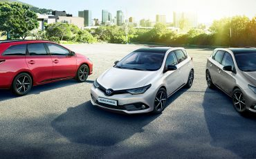 Toyota Auris nu ook als extra stijlvolle Black Edition
