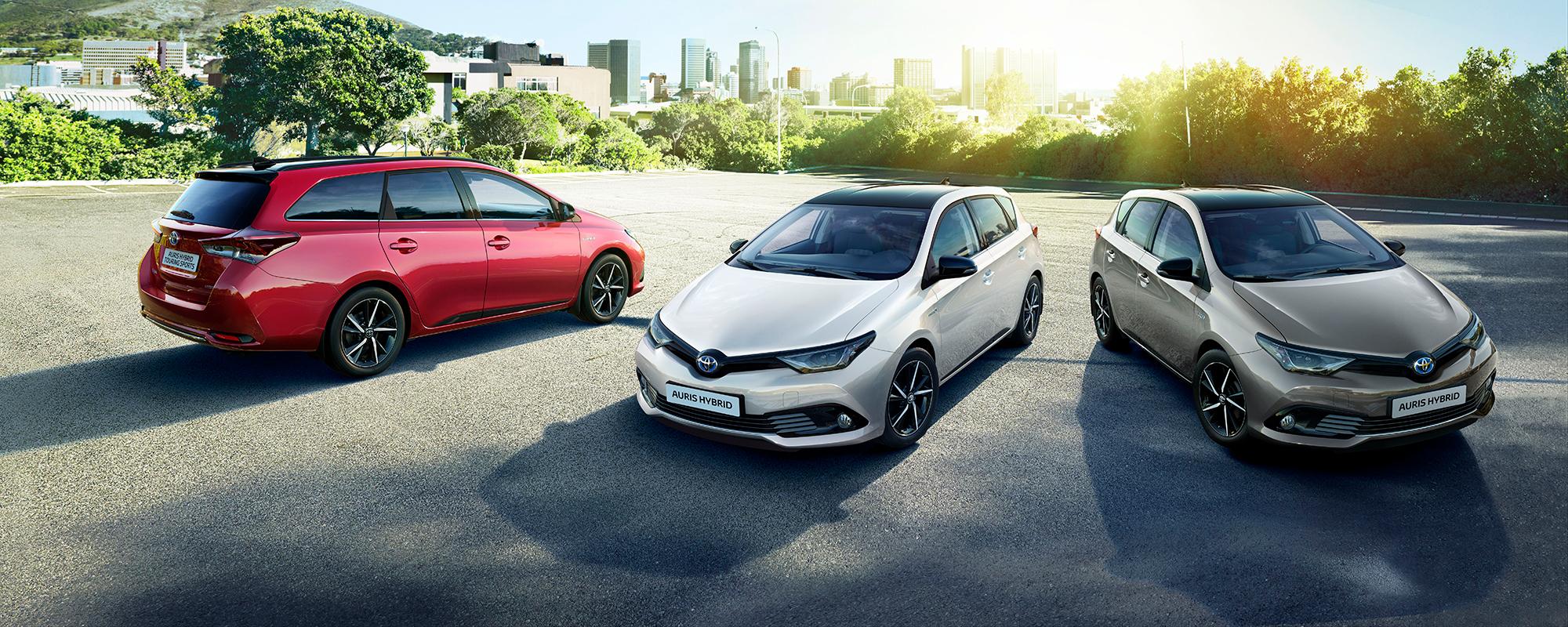 Toyota Auris nu ook als extra stijlvolle Black Edition