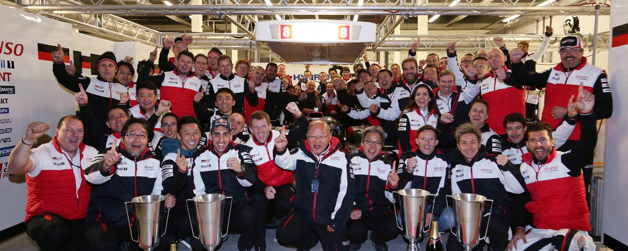 Winst voor Toyota GAZOO Racing tijdens 6 uren van  Silverstone!