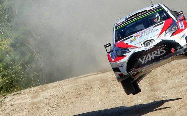 Drie exemplaren Toyota GAZOO Racing Yaris WRC behalen top 10 positie in pittige Rally van Portugal