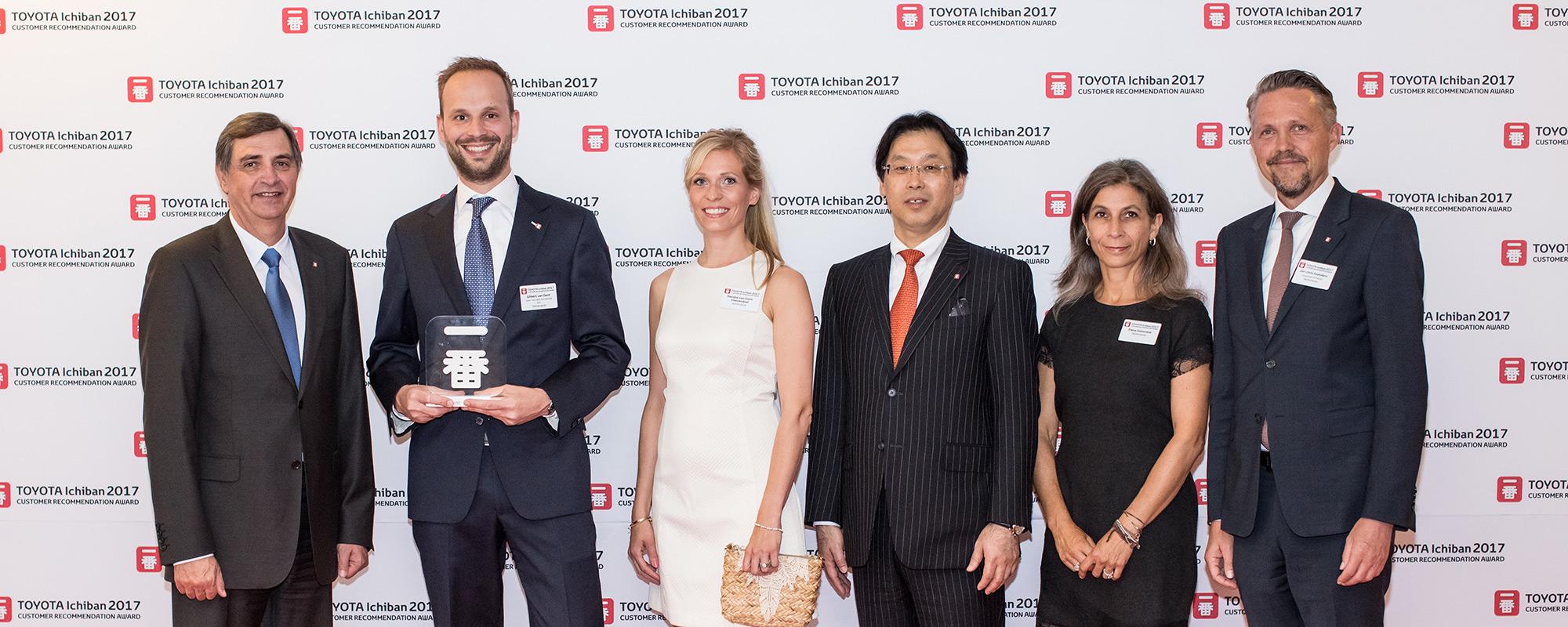 Toyota dealer Gebr. van Gent wint voor negende keer op rij prestigieuze Europese award voor klantervaring