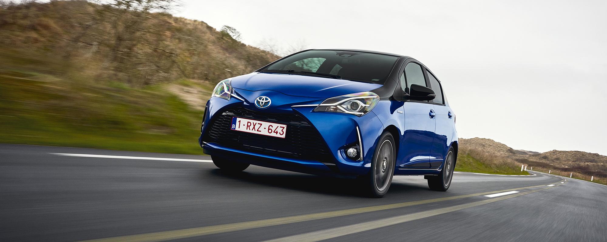 Toyota Energy Challenge daagt proefrijders Yaris Hybrid uit
