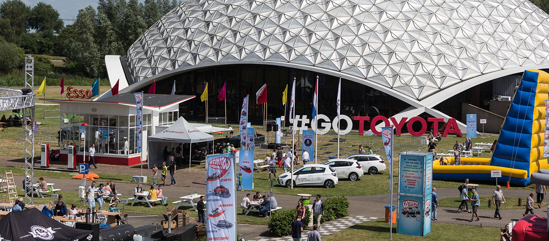Ruim 3.500 bezoekers aanwezig bij spektakel tijdens #GOToyota Brand Event