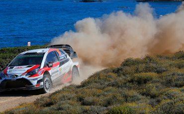 Toyota Yaris WRC pakt zilver in Rally van Italië
