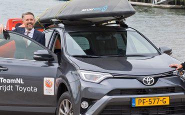 Zeilster Marit Bouwmeester: 'Toyota RAV4 past perfect bij mij en mijn sport'