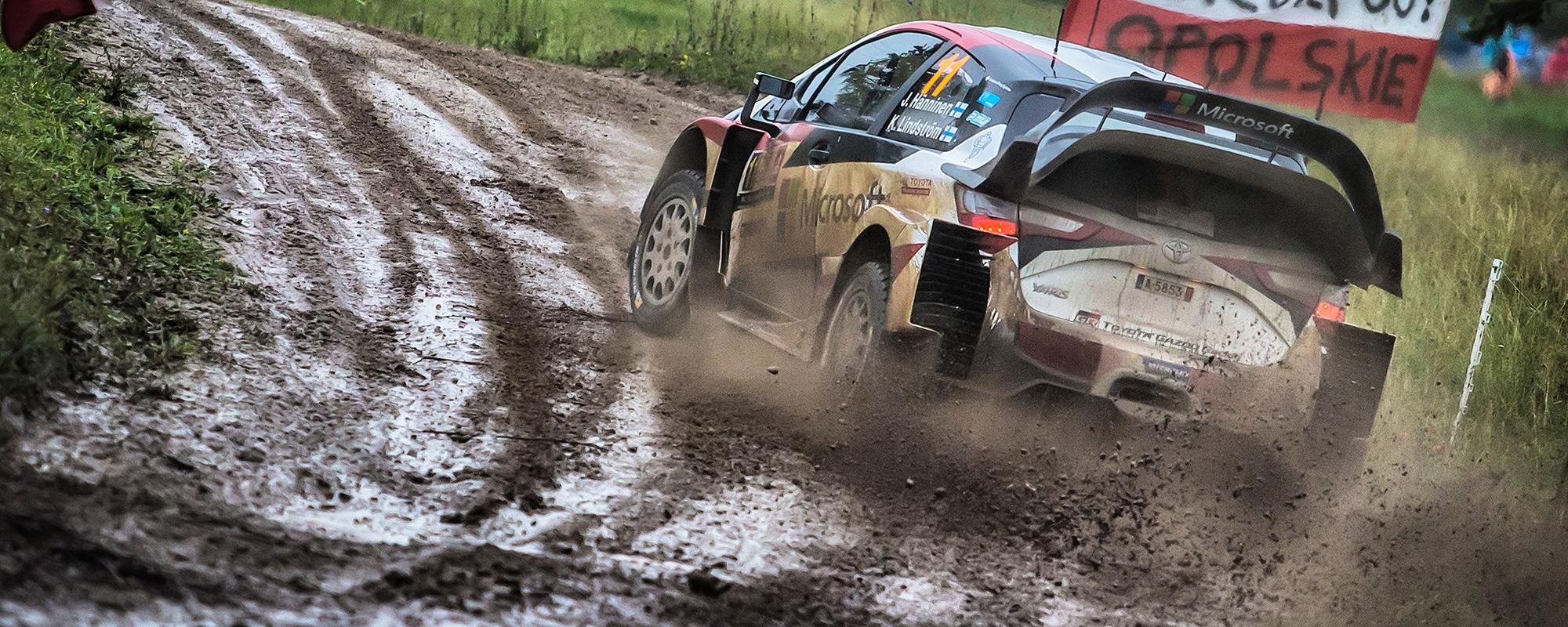 Toyota Yaris WRC domineert Power Stage in Rally van Polen