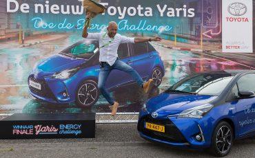 Toyota Yaris Hybrid rijdt 66 procent van de tijd volledig elektrisch