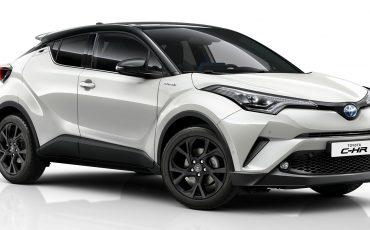 Toyota C-HR Black Edition maakt populaire crossover nog aantrekkelijker