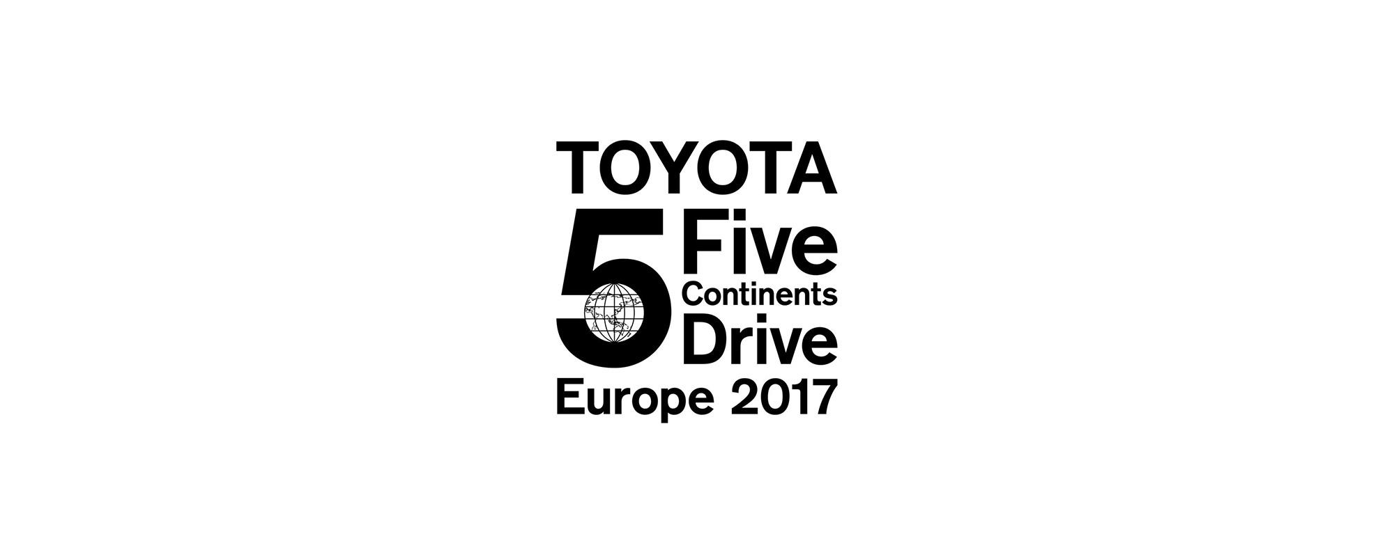 Mega-testrit Toyota Five Continents Drive Project bezoekt Europa