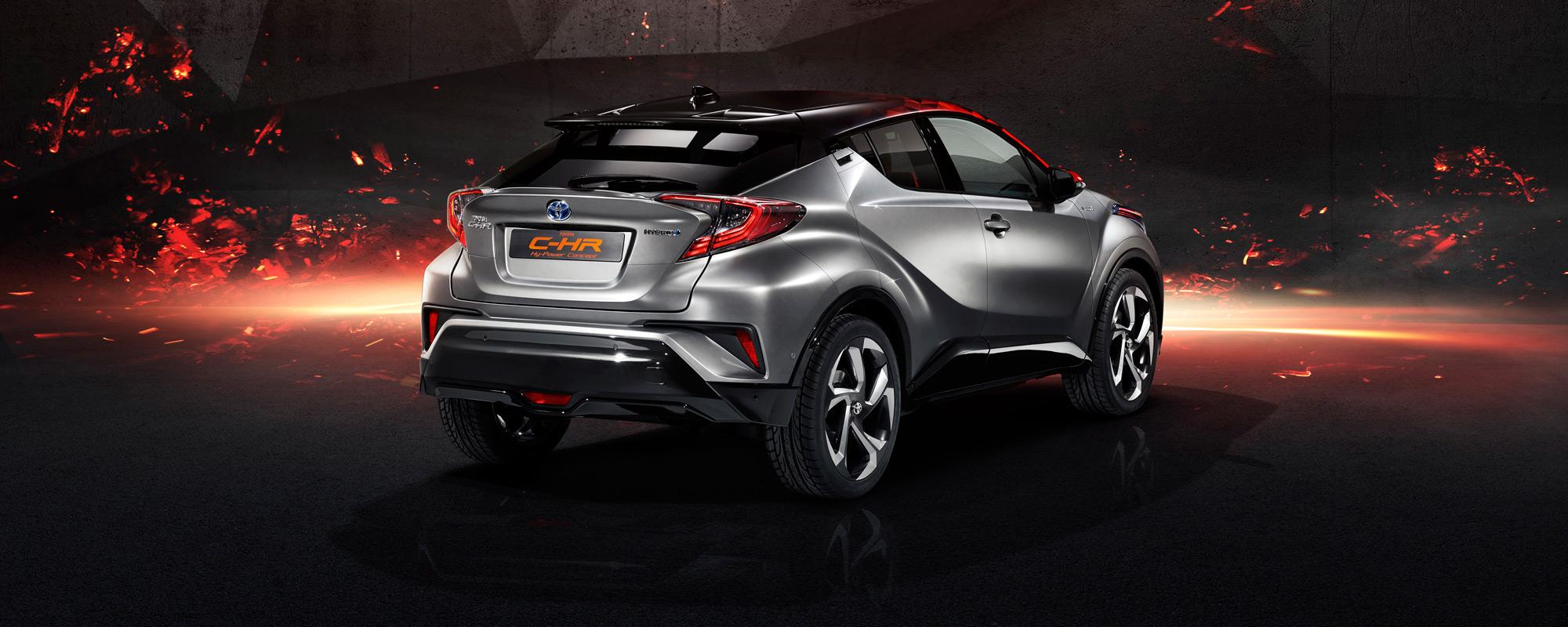 Toyota op IAA met C‑HR Hy‑Power en Auris Touring Sports Freestyle