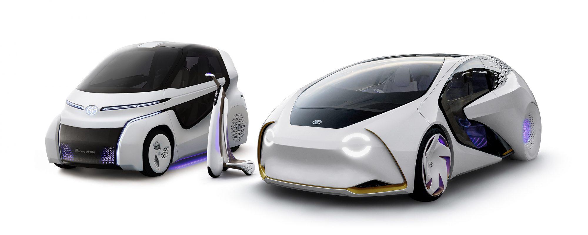 Toyota definieert mobiliteit van de toekomst met Concept-i