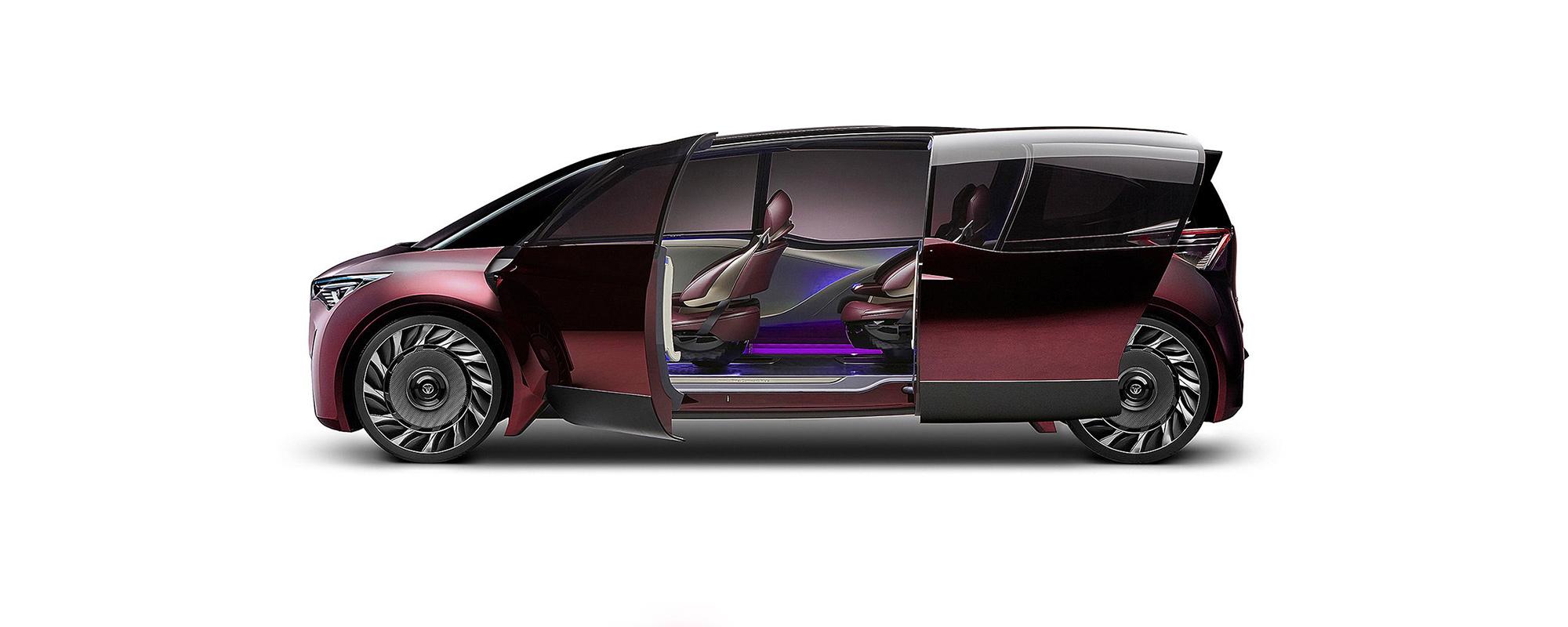 Toyota Fine-Comfort Ride Concept laat mogelijkheden waterstofauto zien