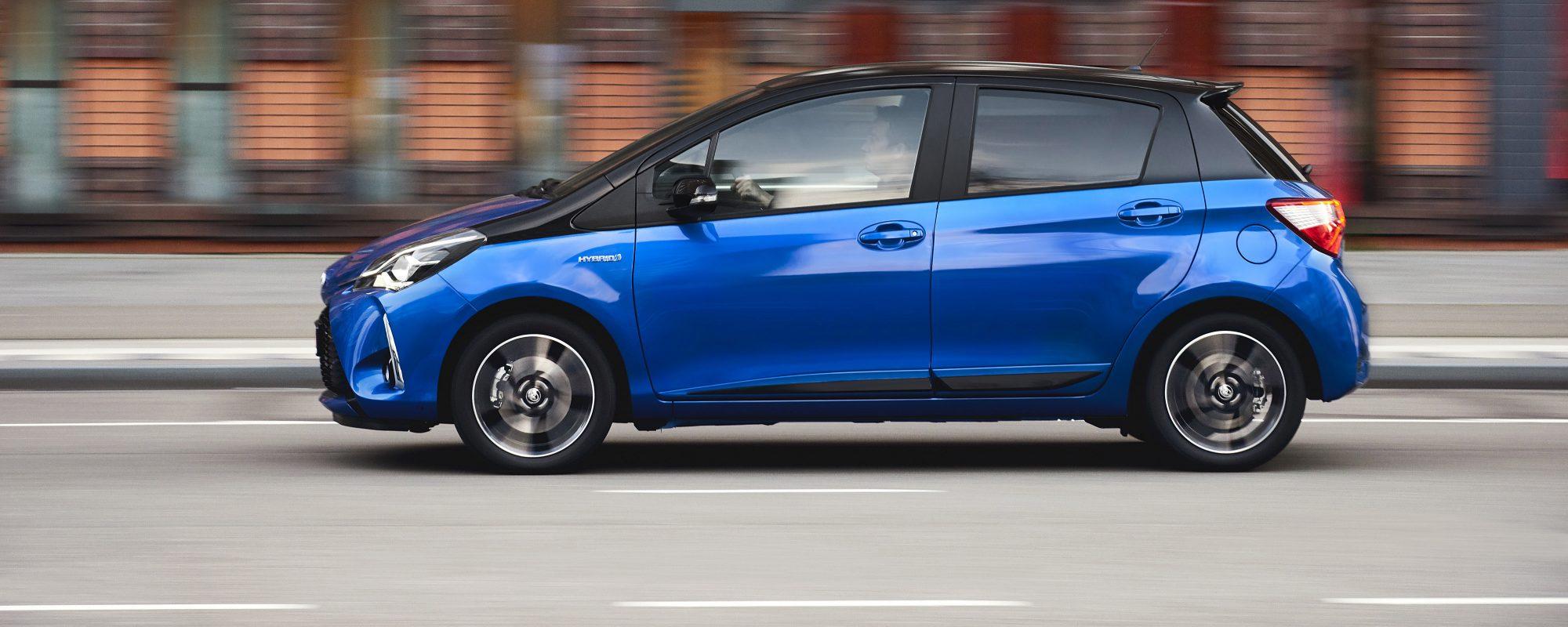 Toyota Yaris behaalt maximum van 5 Euro NCAP-sterren