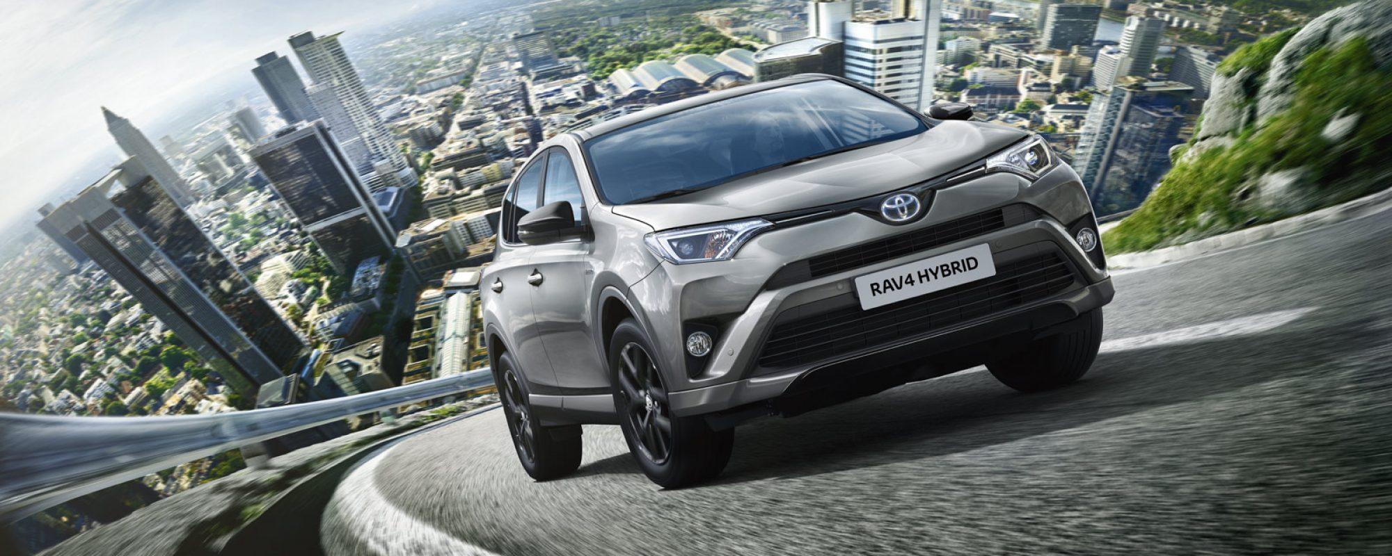 Upgrade voor Toyota RAV4 Black Edition