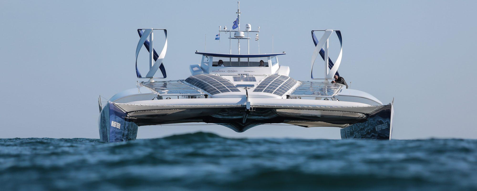 Toyota Motor Europe sponsort waterstofboot Energy Observer