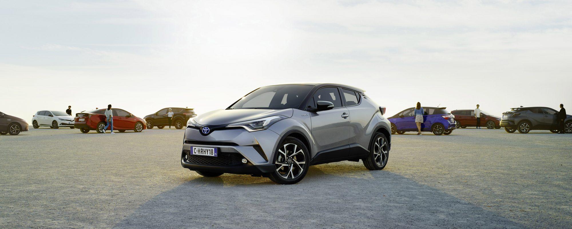 Toyota levert 2 miljoenste hybride in Europa