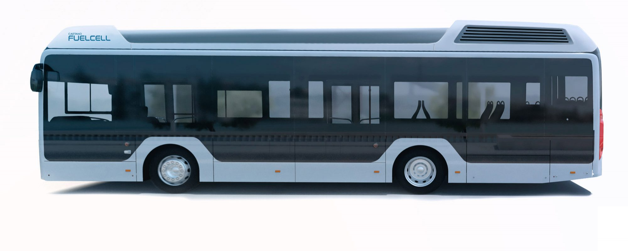 Toyota levert waterstoftechnologie aan busfabrikant Caetanobus SA uit Portugal