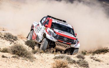 Toyota coureur Bernhard ten Brinke imponeert in Rally van Marokko