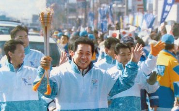01-Kawai-EVP-at-Nagano-1998-Olympic-Torch-Relay-20-years-ago